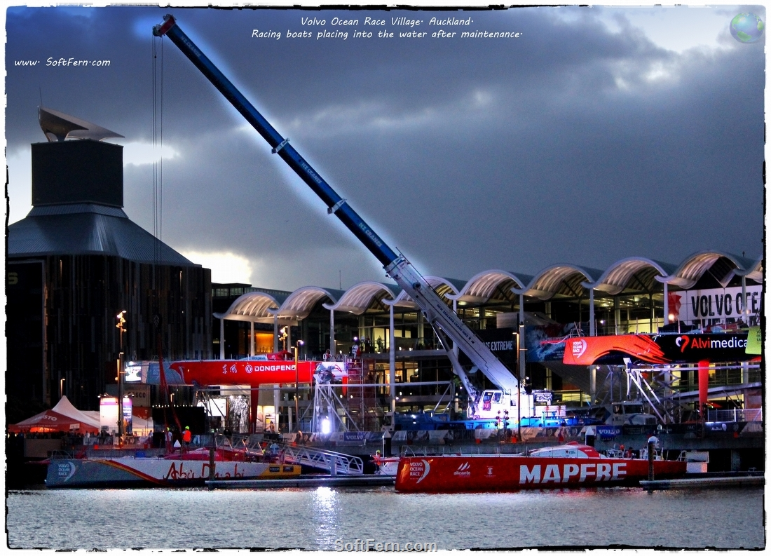 Volvo Ocean Race Auckland Stopover. Saturday March 7, Sunday March 8. Part II. … 25 PHOTOS ...